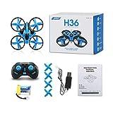 J - NEGOZIO Drone, Giocattolo Drone Aereo Telecomandato Aereo, JJRC H36 6-axis...