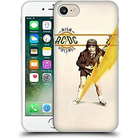 Ufficiale AC/DC ACDC High Voltage Copertina Album Cover Morbida In Gel Per Apple iPhone 7