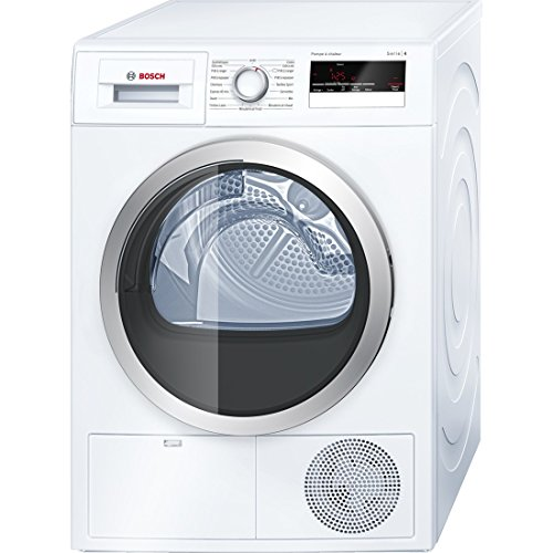 Bosch Series 4�wth85290ff Own Front Load 8kg A + + White Tumble Dryer (, Front Load, Heat Pump, a + +, white, B)