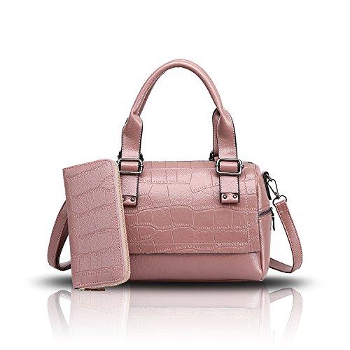 Sunas Damen Handtasche neue Krokodil Muster Boston Handtaschen Schulter diagonalen Paket