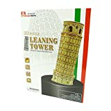 CubicHappy - 3D Puzzle - Leaning Tower 3D Puzzel - Bauwerk - Schiefer Turm Pisa
