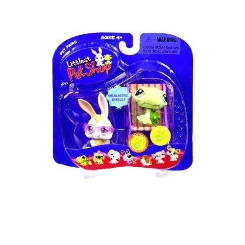 Littlest Pet Shop - Pet Pairs - 2Pack - Hase LPS 321 & Frosch LPS 322 (Littlest Pet Shop-spielzeug Pferd)