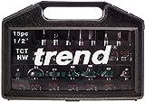 Trend  Setss9tc 1/2 Tc Starter Cutter Set 15 Piece