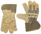 Best Carhartt Gloves For Men - Carhartt Men's Suede Work Glove with Safety Cuff Review
