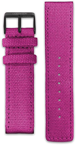 Colhour Watches Correa Tela 20mm Ancho - Sistema fácil