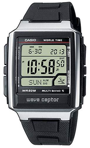 Casio Wave Ceptor Funkuhr digital schwarz Herren WV-59E-1AVEF