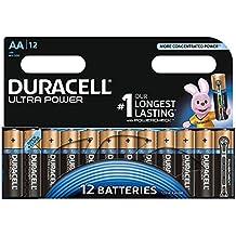Duracell Ultra Power Piles Alcalines type AA, Lot de 12