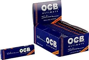 OCB 15427Ultimate Cartine lunghe per sigarette, 32 pacchetti da 32 fogli ciascuno