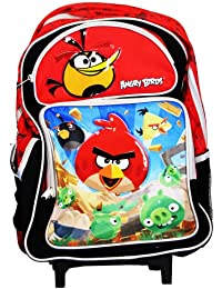 Angry Birds Rolling Backpack - Angry Birds Rolling School Bag Large