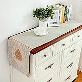 JINGJIE Tischläufer moderne schlichtheit coffee table tv-schrank betttuch hochzeit bankett dekoration-B 32x200cm(13x79inch)