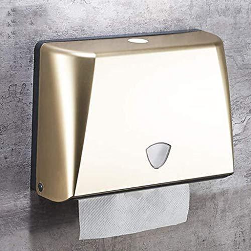 papierhalter Free Punching Küche Hotel Badezimmer Square Handtuch Papierhandtuch Box Bad-Accessoires ()