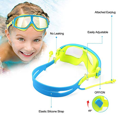 Zoom IMG-1 wotek occhialini da nuoto per