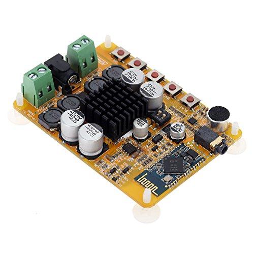 KKmoon 2 Kanal Audio Receiver Stereo Digital Power Amplifier Board Modul TDA7492 50W (Platine Power)