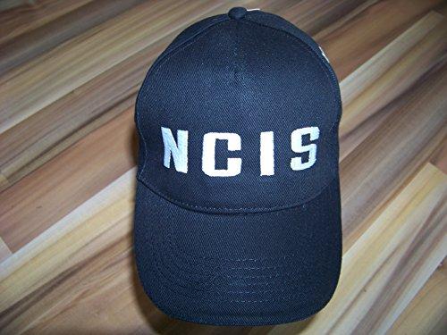 Navy CIS , NCIS Logo Hat Basecap Cap Mütze black / schwarz + eine kleine...