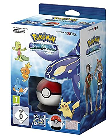 Pokémon Saphir Alpha + Pokéball + Poster Pokédex de Hoenn