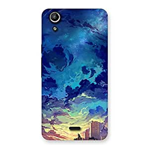 Abstract Cloud Back Case Cover for Micromax Canvas Selfie Lens Q345