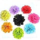 BIPY Hundehalsband, mit Anhänger, Blumen-/für die 8