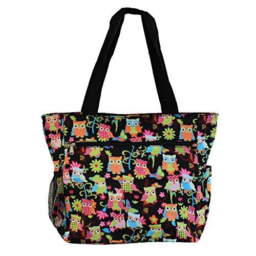 world-traveler-135-inch-beach-bag-multi-owl-one-size