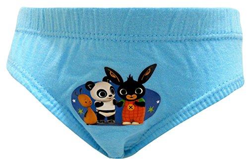 Bing Boys 100% Cotton 6er Pack Slip Unterhose 1 - 5 Jahre Mehrfarbig