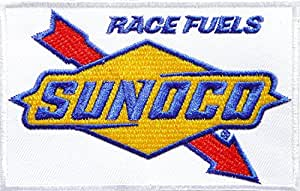 Sunoco Race Fuels Oil Car Motorcycles Racing Moto Logo pour Homme correctifs Sew Iron On Embroidered