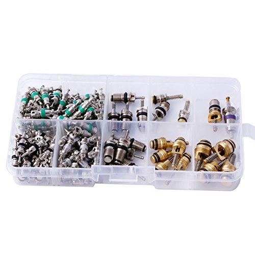 Lot de 134 valves de climatisation R134A A/C pour voiture