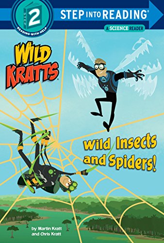 Wild Insects and Spiders! (Wild Kratts) (Step into Reading) (English Edition)