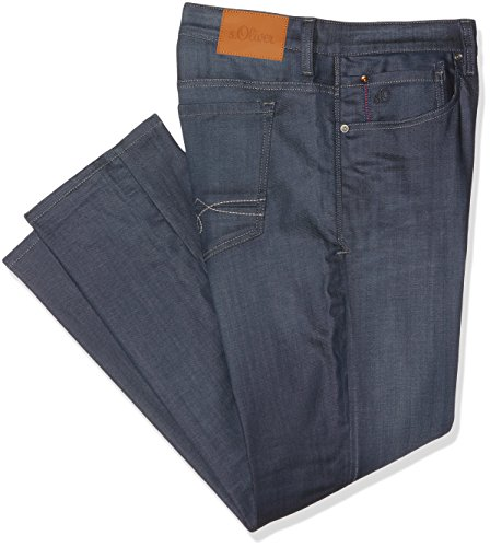 s.Oliver Big Size Herren Straight Jeans 15702713894 Blau (blue Denim Stretch 57z9)