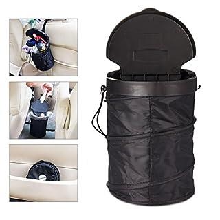 Auto Mülleimer ANGGO Auto Müllsäcke und Abfall-Tasche Faltbar Abfalleimer Wiederverwendbare Mülltonne abfallbehälter
