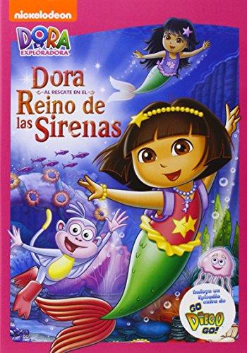 Dora La Exploradora: Al Rescate En El Reino De Las Sirenas (Import Dvd) (2013)...