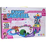 Funny Carousel Track Puzzle, 48 Pieces - 2167A