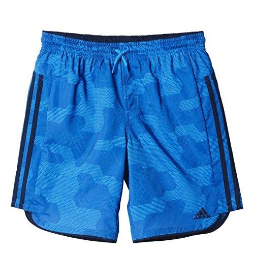 adidas Jungen Badeshorts by Camo SH CL, Blau, 152 - Bling Logo Tee