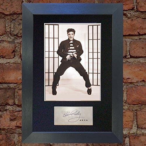 Elvis Presley Jail House Rock Top Qualität Autogramm signiert Reproduction Print A4selten (297x 210mm) # 409
