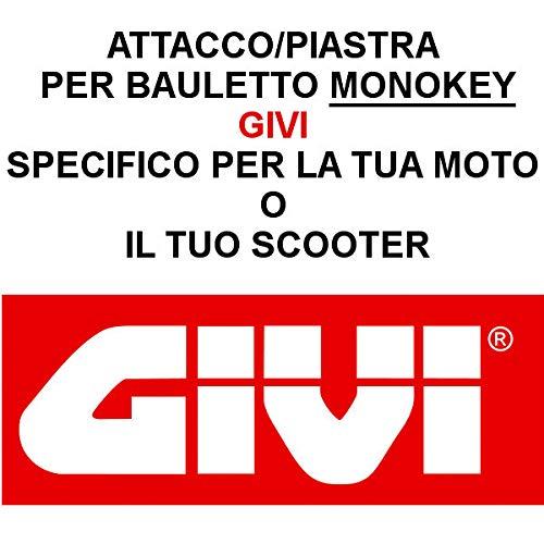 SR6404 Halterung für Top Cases Triumph Tiger Sport 1050 2013 2019 Monokey Givi