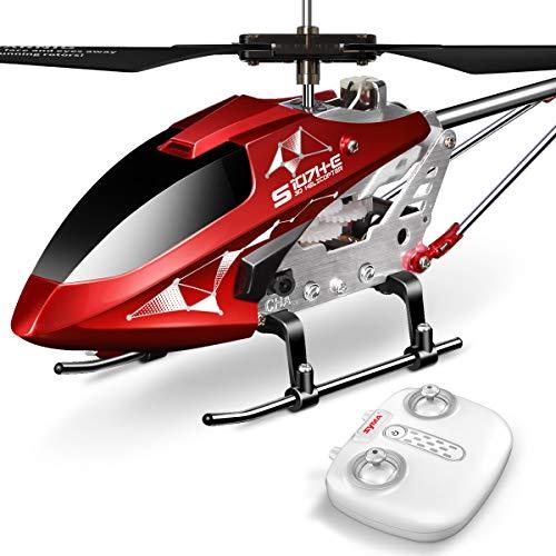 SYMA S107H Ferngesteurter Helicopter RC Hubschrauber 3.5 Kanal 2.4 G LED Leucht und Gyro-Technik Geschenk für Kinder