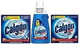 Calgon 2in1-Power-Testpaket mit 3 Artikeln Spülmaschinentabs Gel Pulver