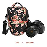 Koolertron DSLR Camera Case Bag with Top Loading Accesibility