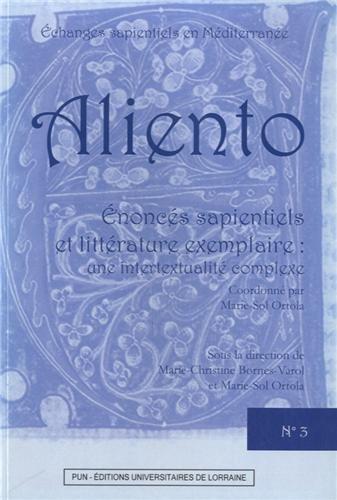 Enoncs sapientiels et littrature exemplaire : Une intertextualit complexe