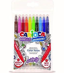 Carioca- Birello rotuladores, Multicolor (41428)
