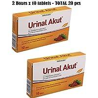 URINAL ® AKUT 10 Tabletten für Probleme mit Harn / Zystitis / Prostata-Probleme preisvergleich bei billige-tabletten.eu