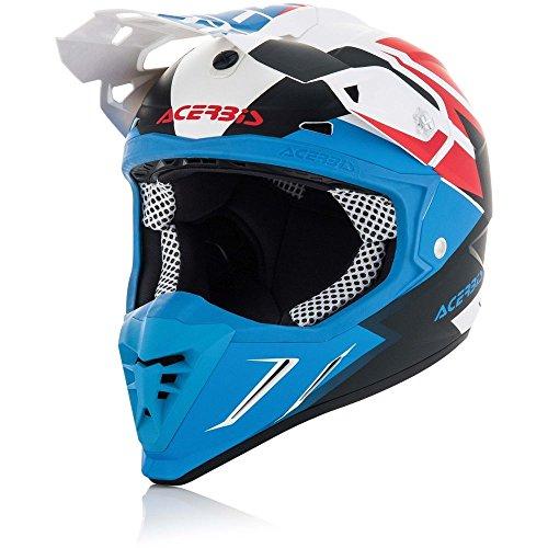 Preisvergleich Produktbild Acerbis Profile 3.0 Snapdragon Off-Road Helm weiß / blau