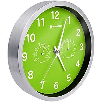 Acctim 21895 Abingdon Wall Clock Lime Green Amazon Co Uk