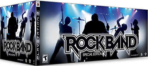 Rockband Playstation 2 PS3 Special Edition Complete - Ps2 Rock Band