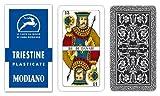 Triestine Italian Regional Playing Cards - Blue Box by Modiano