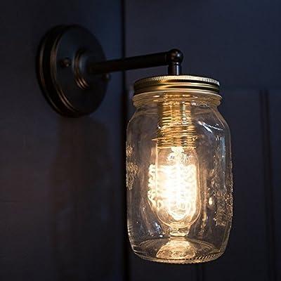 NEW! Preserve Jar Wall Light