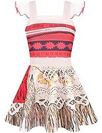 Alvivi Vestido Princesa Disfraz Infantil Cosplay Traje para Niñas Fiesta Navidad Vestido de Ballet 1-