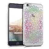 kwmobile Apple iPhone 6 / 6S Hülle - Handyhülle für Apple iPhone 6 / 6S - Handy Case in Mehrfarbig Pink Transparent