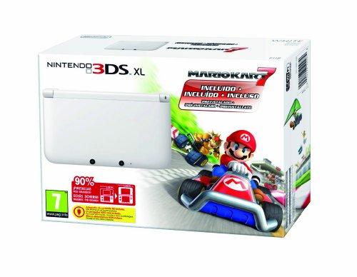 Imagen principal de Nintendo 3DS - Consola XL - Color Blanco - Incluye Mario Kart 7