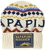 Napapijri Farmington Gorro de Punto, Blanco (Whitecap Gray Ns5), Talla Única (Talla del Fabricante: OS) para Hombre