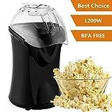 Rendio Popcornmaschine für Zuhause zum selber machen, 1200W...