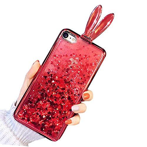 Cover per iPhone 5S, Custodia per iPhone 5 , Bonice Morbido TPU Rubber Silicone Cartoon Baffi Case per iPhone 5 5 SE+ 1x Protezione Dello Schermo Screen Protector - Bling Pattern 25